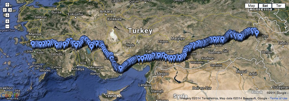 Matt Krause walk across Turkey