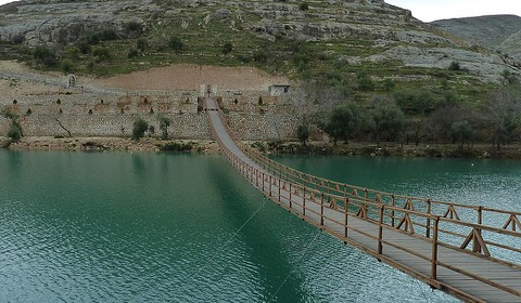 Matt Krause - pedestrian bridge at Halfeti