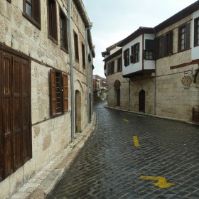 Matt Krause - cobblestone street in Tarsus